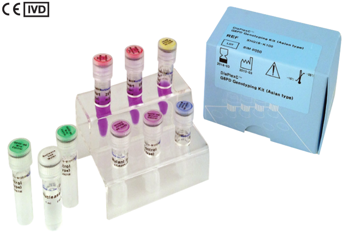 DiaPlexC™ G6PD Genotyping Kit (Asian type, African type)_CE-IVD.png